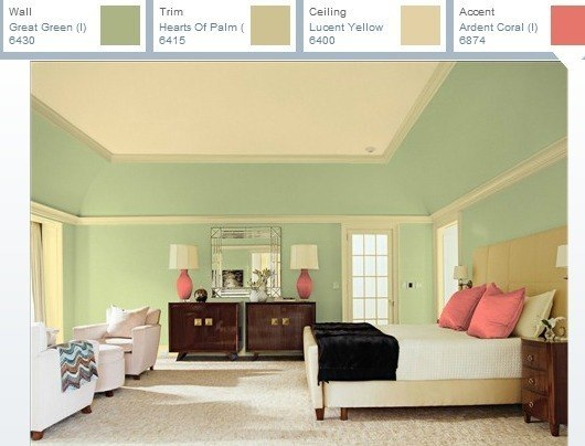 Colores para un dormitorio - Combinar color naranja paredes ...
