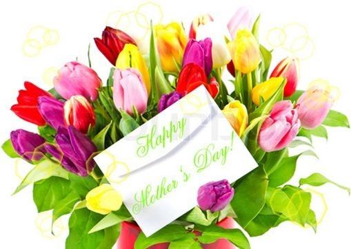 Ramo flores día de la madre