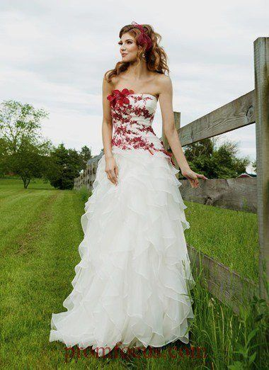 Vestidos de novia en rosa 2016