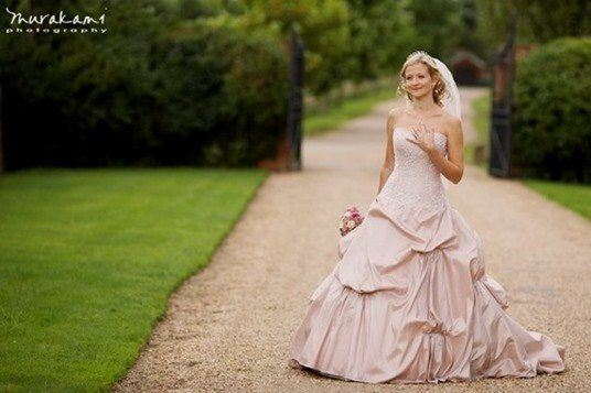 Vestidos de novia rosa