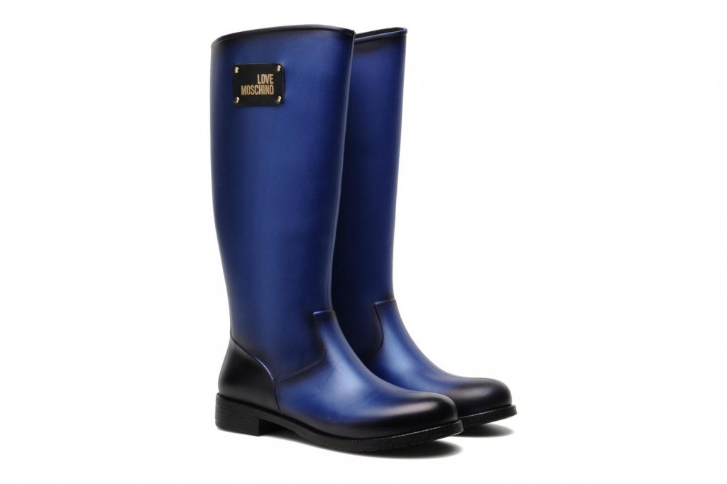 LOVE MOSCHINO Rain Boot Color