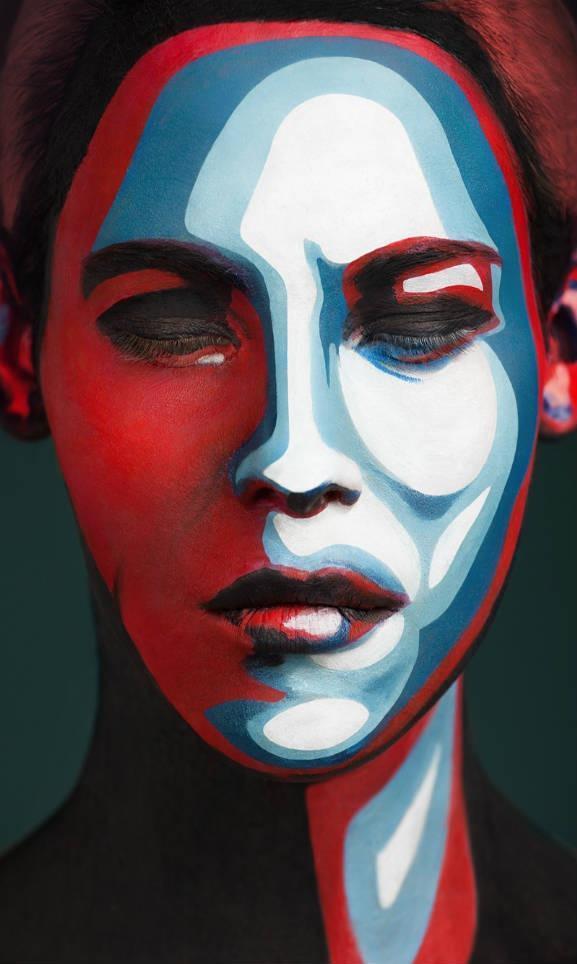 Maquillaje artístico mujer6