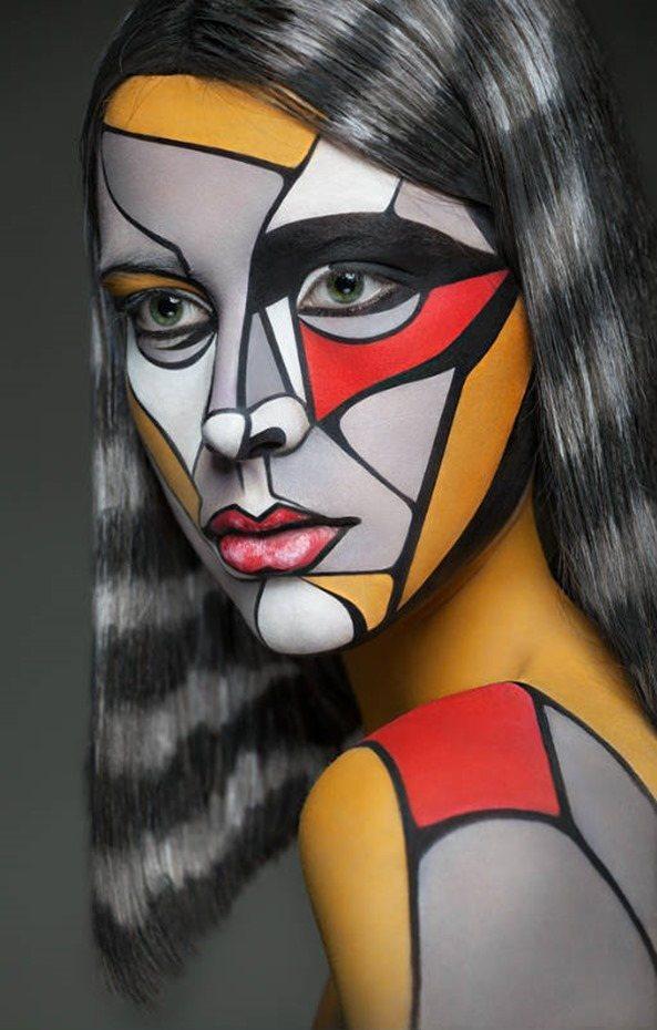 Maquillaje multicolor1