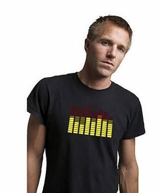 Camiseta con ecualizador