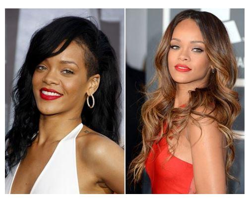 Colores para el pelo Rihanna