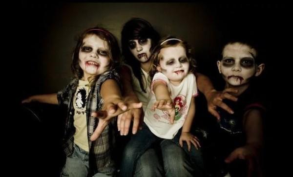 Maquillaje Halloween para niños 2