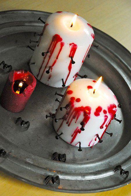 manualidades-halloween-para-ninos-de-primaria-velas-sangrientas