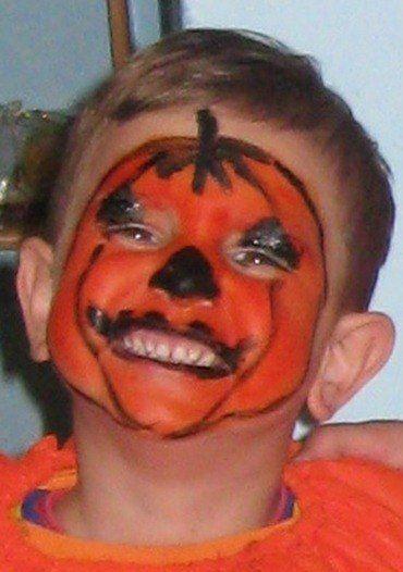maquillaje-de-halloween-ninos-calabaza