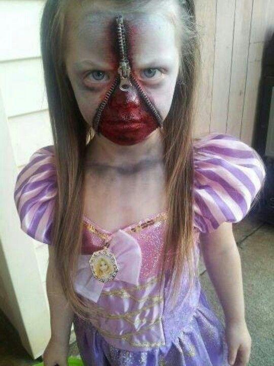 maquillaje-halloween-nino-cremallera
