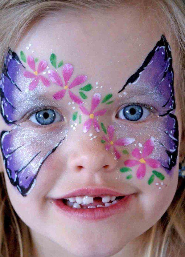 maquillaje-halloween-ninos-maquillaje-de-mariposa