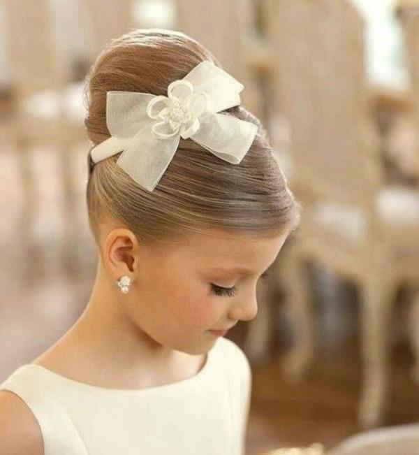 Peinados de niñas para comunión 2016