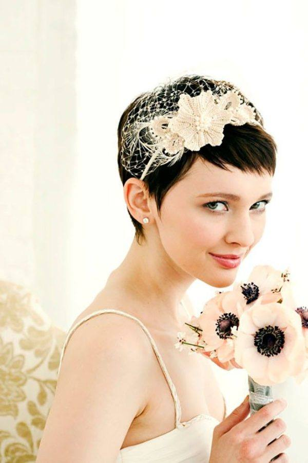 Peinados de boda para pelo corto
