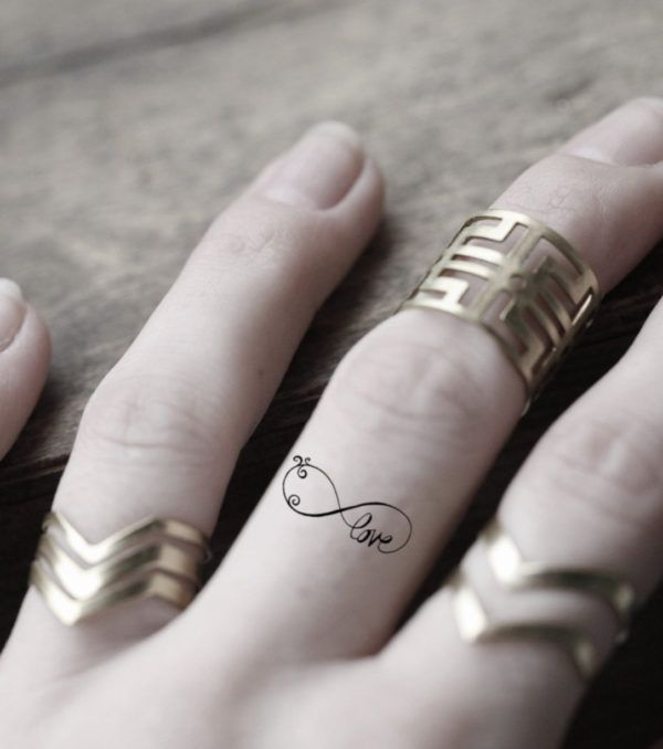 Tatuajes Para Mujer De Infinito