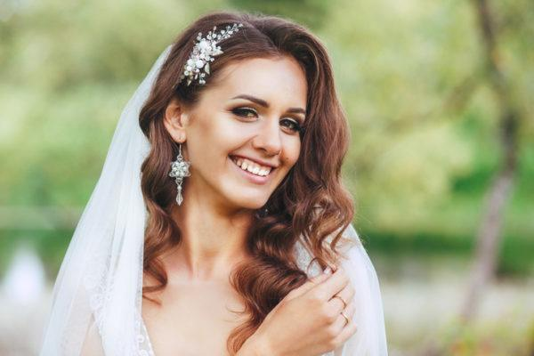 Tocados de novia originales y sencillos