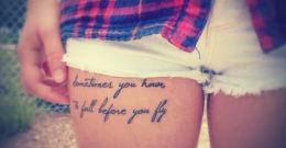 55 frases de tatuajes para mujeres: frases en español, inglés y francés