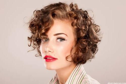 Los mejores peinados para pelos rizados primavera verano - Peinados melenas cortas ...
