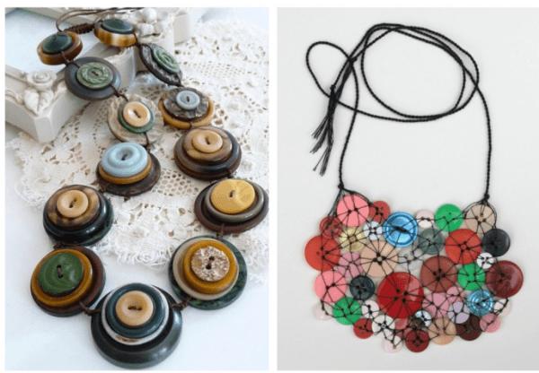 Cómo hacer collares con material reciclado