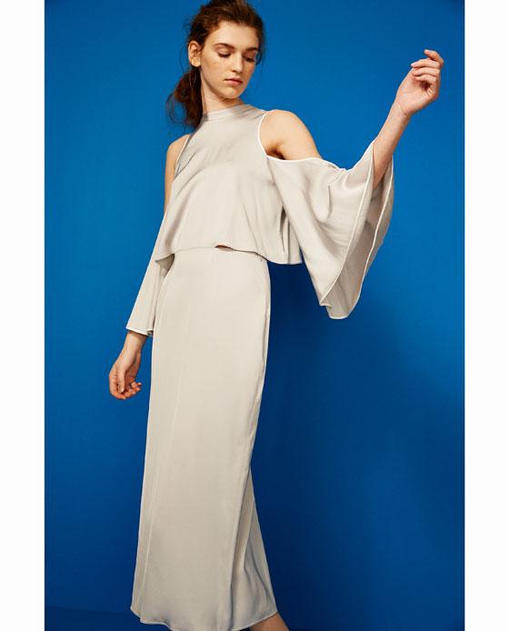 Vestidos de fiesta Zara: cortos