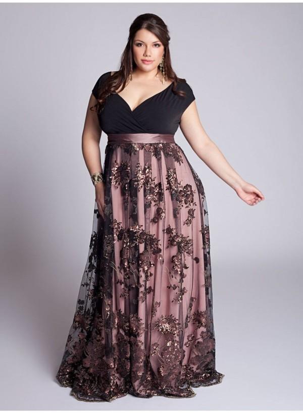 Los vestidos de fiesta tallas grandes para la primavera verano de 2016