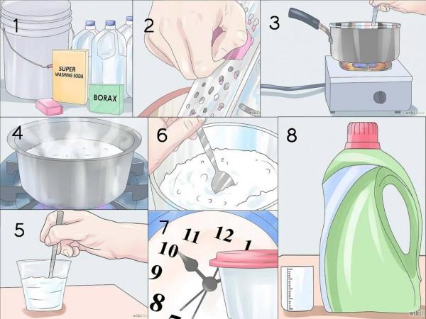 Como hacer jabón liquido