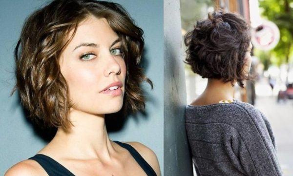 Cortes de cabello corto rizado 2016