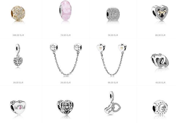 pandora joyas charms