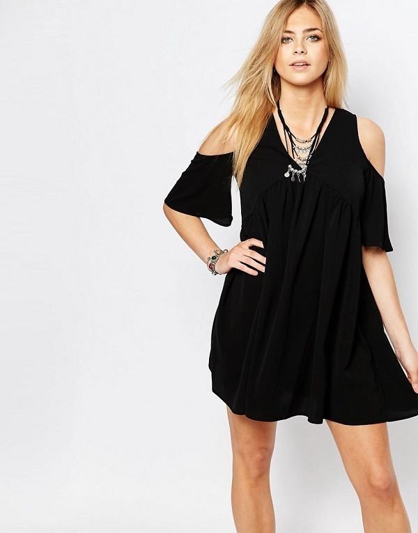 vestidos-de-fiesta-cortos-negro-hombros-descubiertos