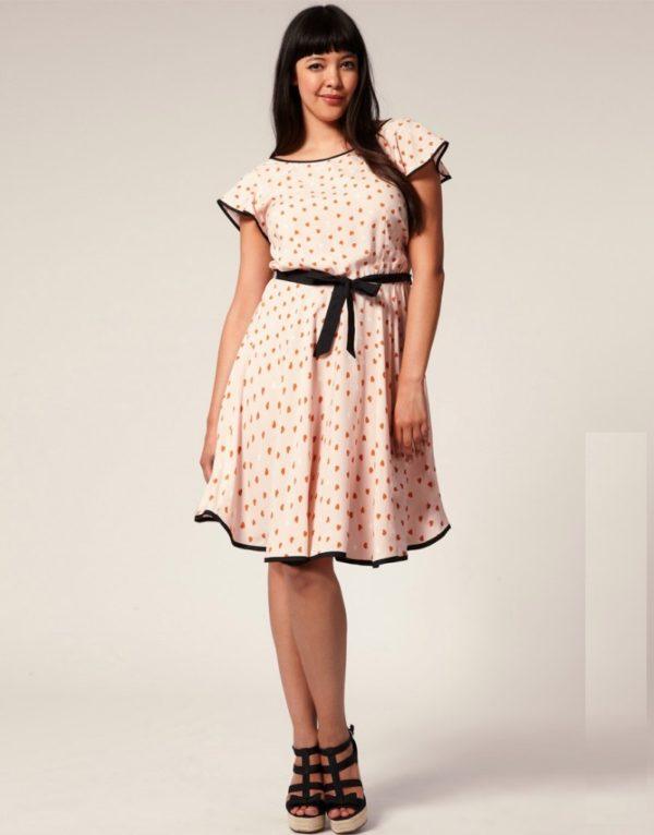 vestidos-de-fiesta-cortos-otono-invierno-talla-grande-rosa