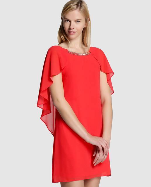 vestidos-de-fiesta-el-corte-ingles-corto-suelto-rojo