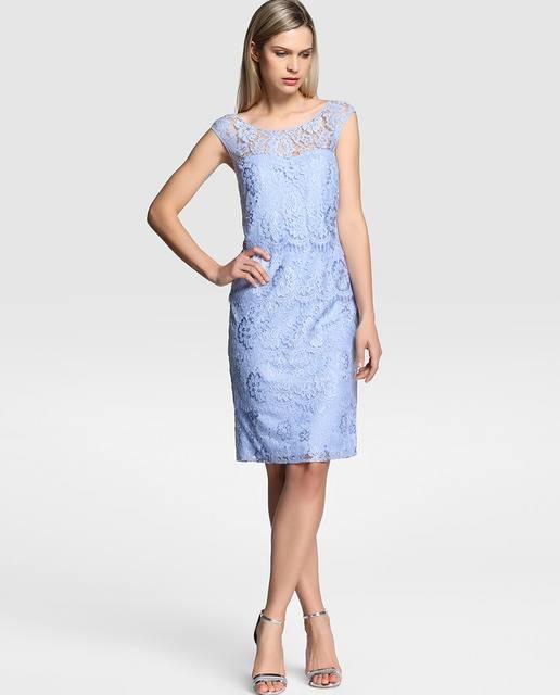 vestidos-de-fiesta-el-corte-ingles-encaje-azul-sin-mangas