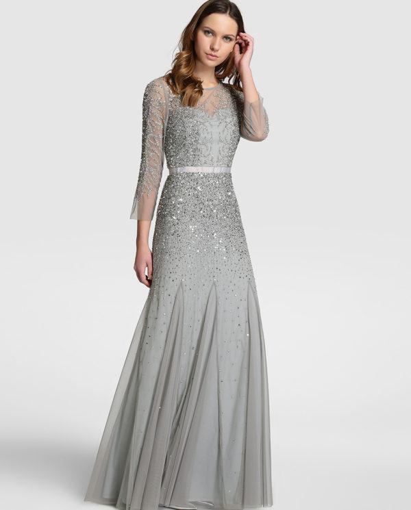 vestidos-de-fiesta-el-corte-ingles-largo-adrianna-papell-gris
