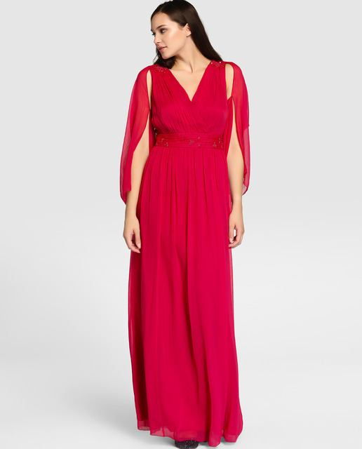 vestidos-de-fiesta-tallas-grandes-otono-invierno-2017-rojo-griego