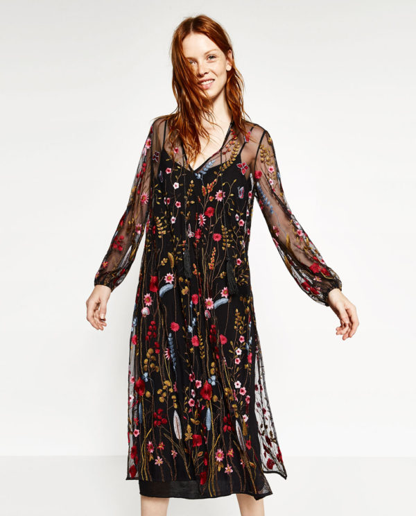 Vestidos fiesta zara otono 2019
