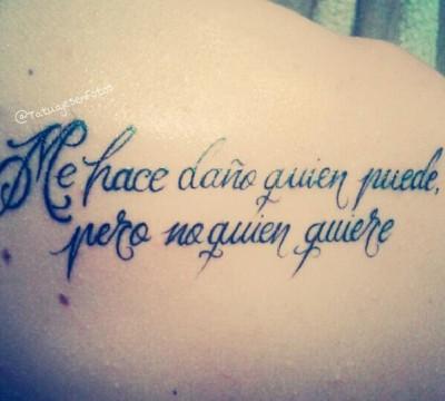 Mas De 20 Frases En Espanol Para Tatuarse Blogmujeres Com