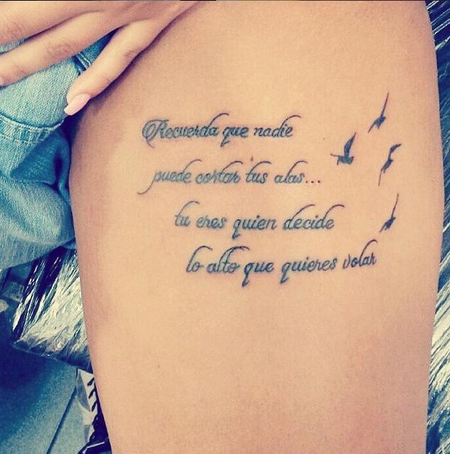 m s de 20 frases en espa ol para tatuarse