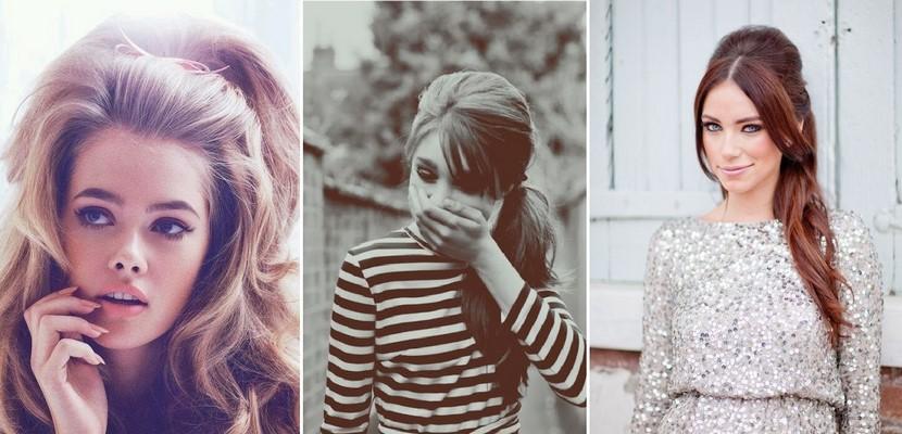 Moda a os 60 fotos ropa peinados y complementos - Fotos peinados de moda ...