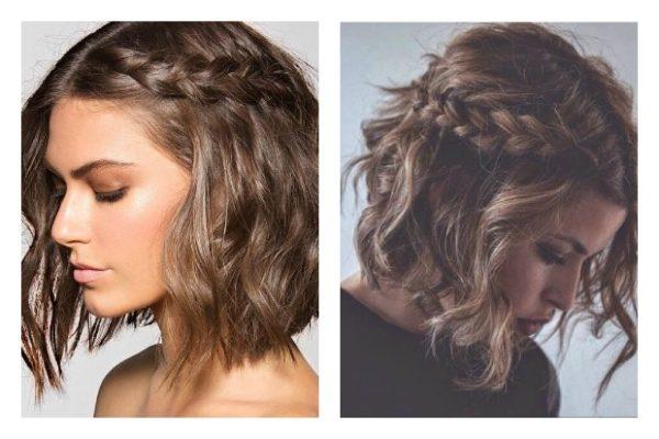 peinados faciles paso a paso trenzas peinado corto - Peinados Fciles