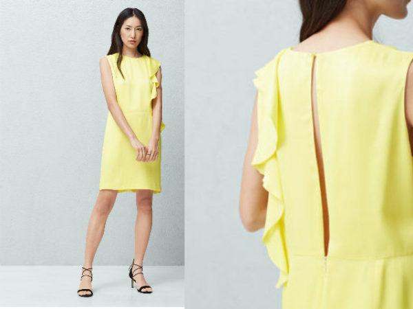 vestidos-graduación-2016-corto-mango-amarillo