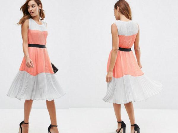 vestidos-para-ir-a-una-comunión-asos-plisado