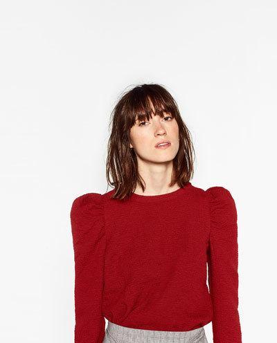 zara-otono-invierno-2017-camiseta-roja