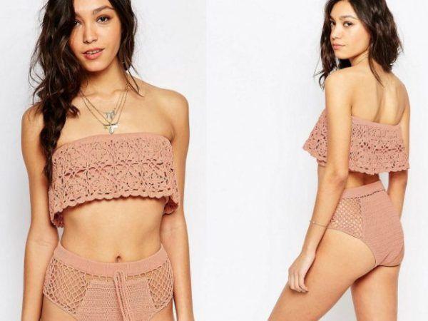 a77328eaea Los Mejores Bikinis Crochet Primavera Verano 2019 - Bikinis de ...