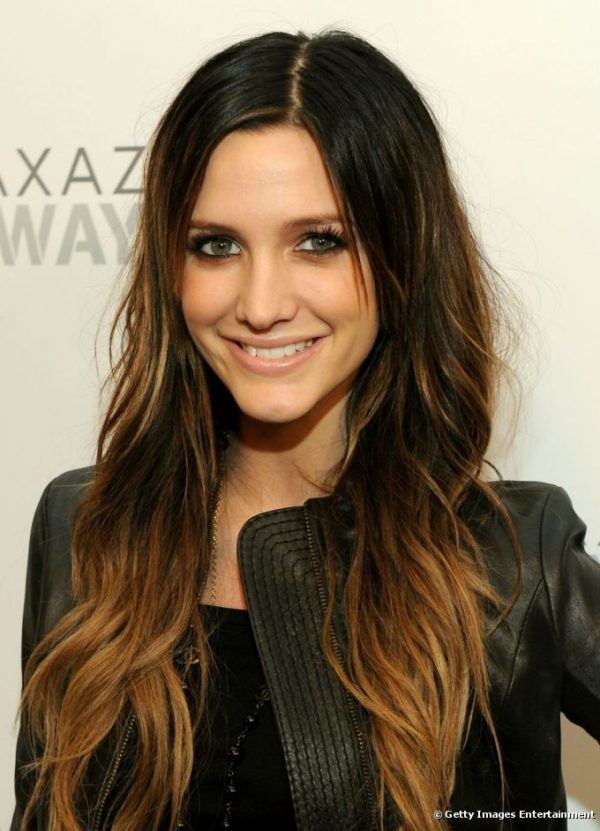mechas-californianas-pelo-largo-chaqueta