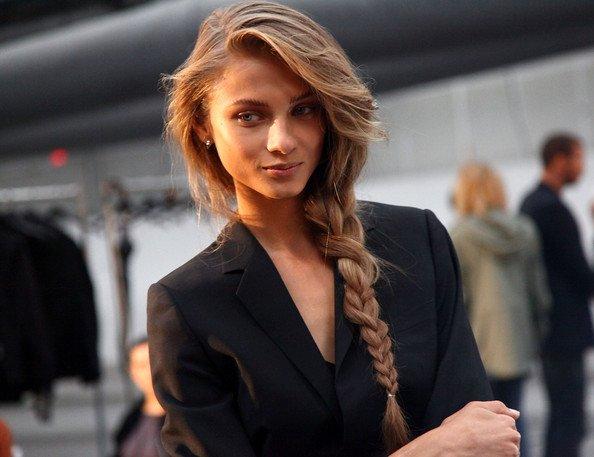 peinados-con-trenzas-clásica
