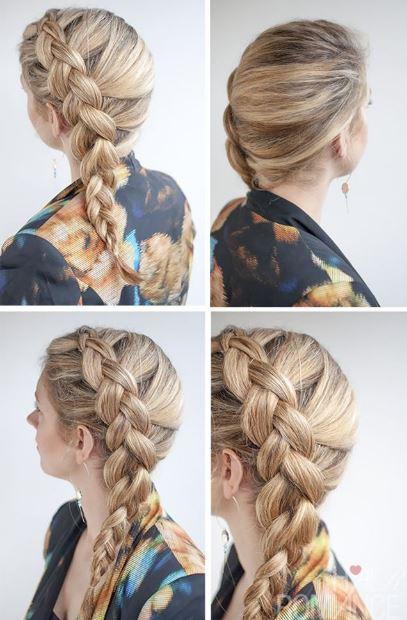 peinados-con-trenzas-francesa-lado