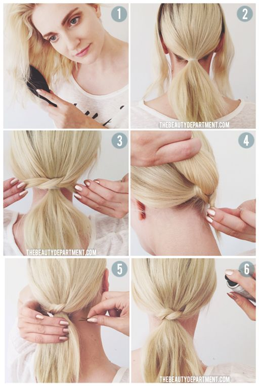 peinados-faciles-paso-a-paso-coleta-rubia