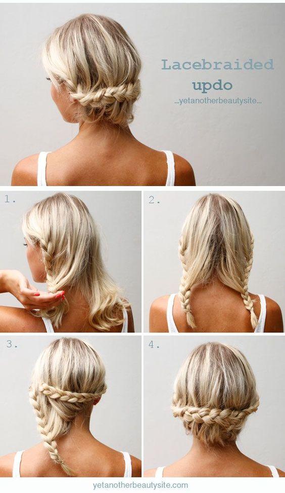 peinados fáciles: fotos de peinados fáciles paso a paso otoño