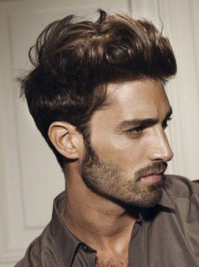 peinados hombre pelo corto tupe despeinado