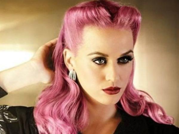 peinados pin up rosa katy perry - Peinados Pin Up
