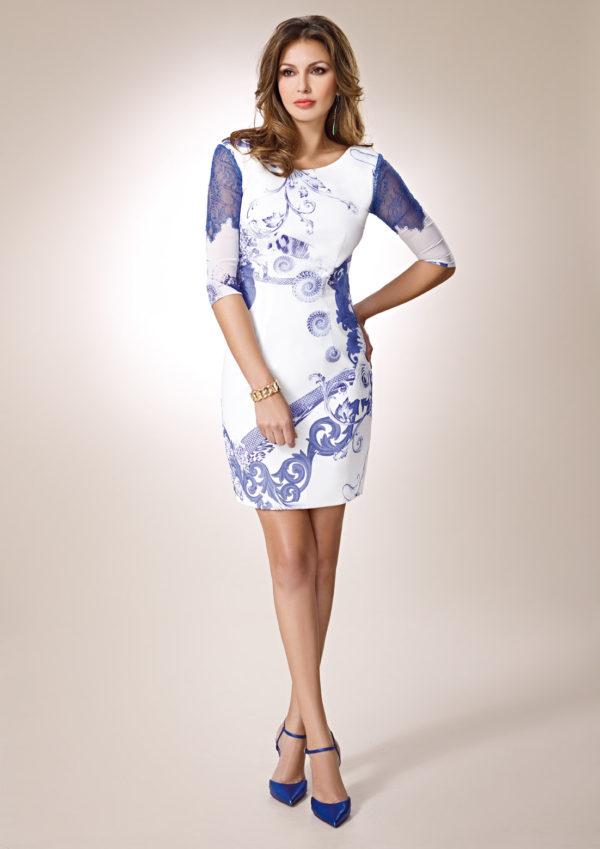 vestidos-de-comunion-para-madres-vestido-encaje-azul