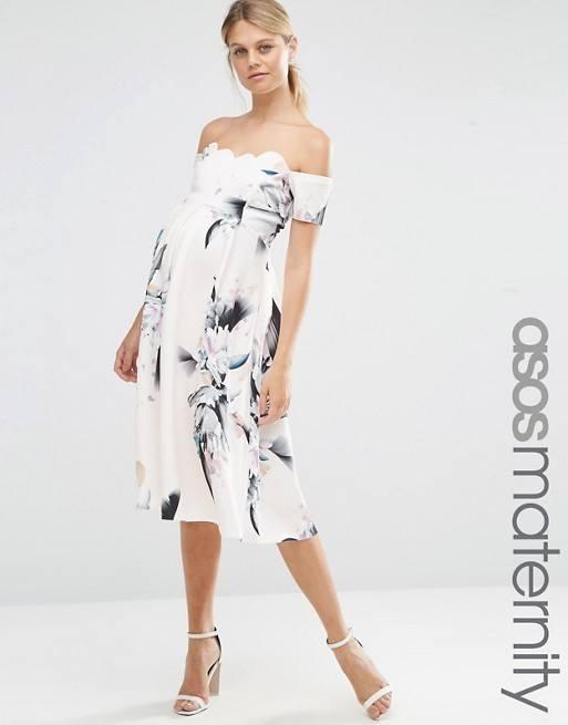 Vestido corto estampado 2018